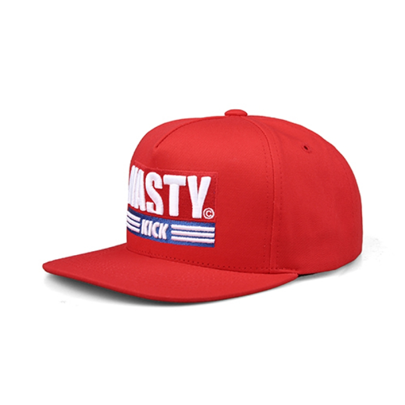 [NASTY PALM] NASTY KICK SNAPBACK (RED)