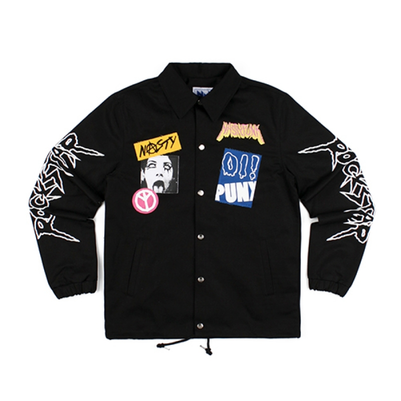 [NASTY PALM] NASTY ROCKSTAR COACH JACKET