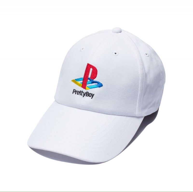 [PRETTY BOY GEAR] PLVY NO GVME CAP (White)