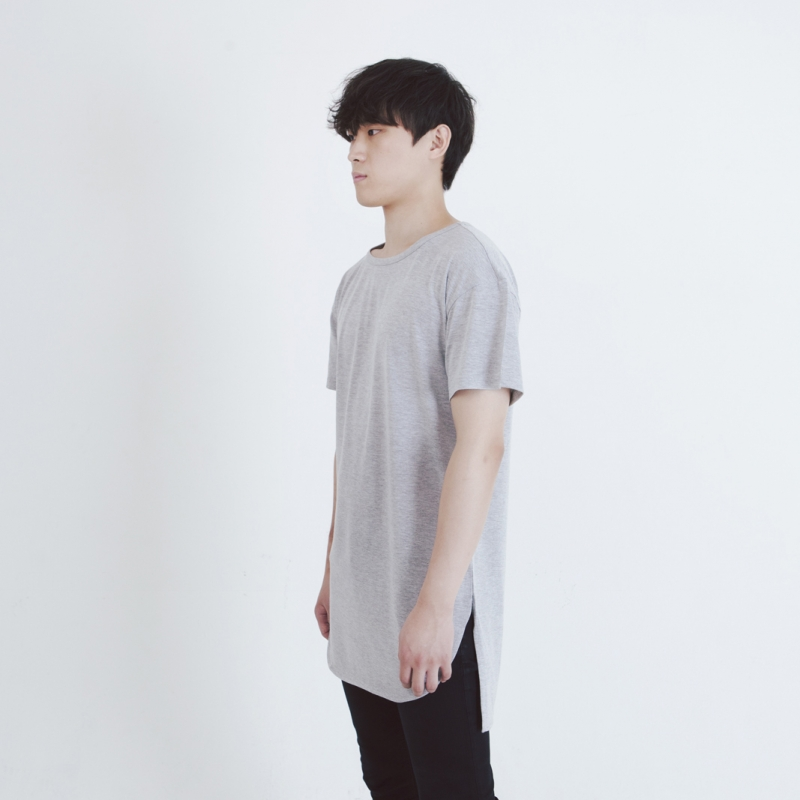 [FADE6] LAYERED T-SHIRTS GREY