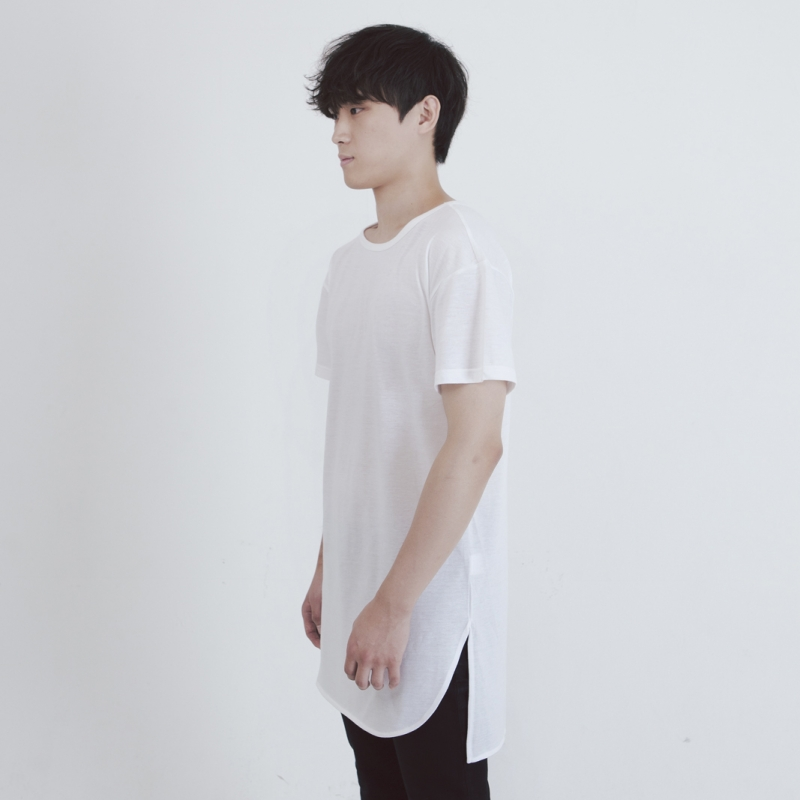 [FADE6] LAYERED T-SHIRTS CREAM