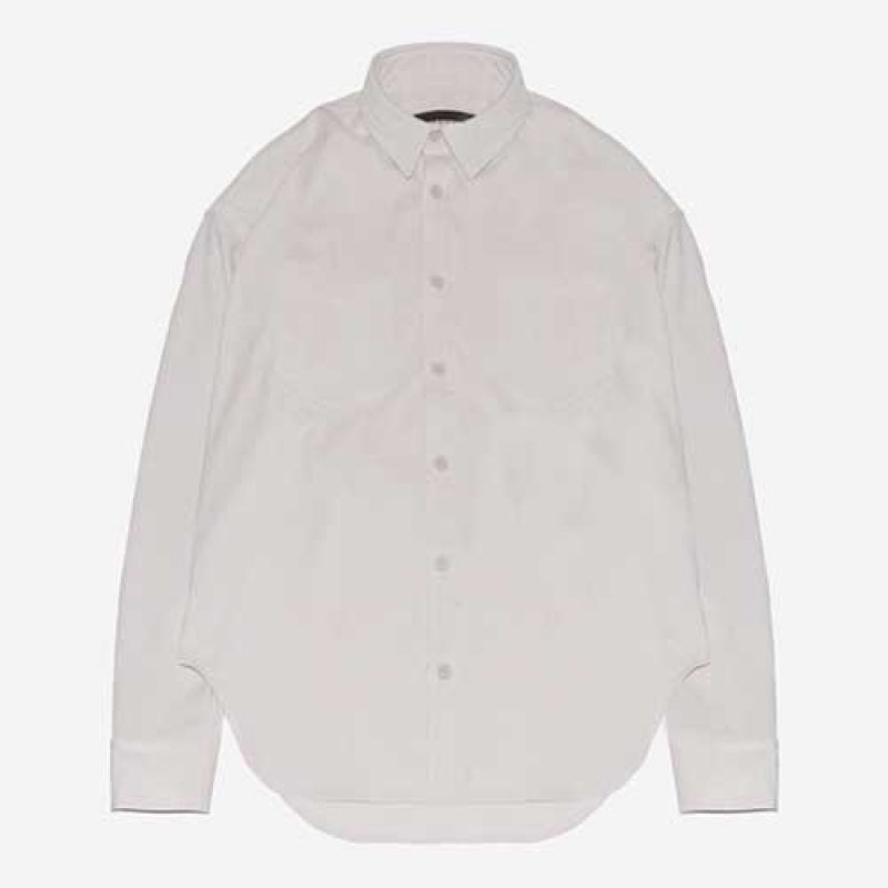 [BEHIND THE SCENES] SHEDEN CORDUROY SHIRT CREAM WHITE