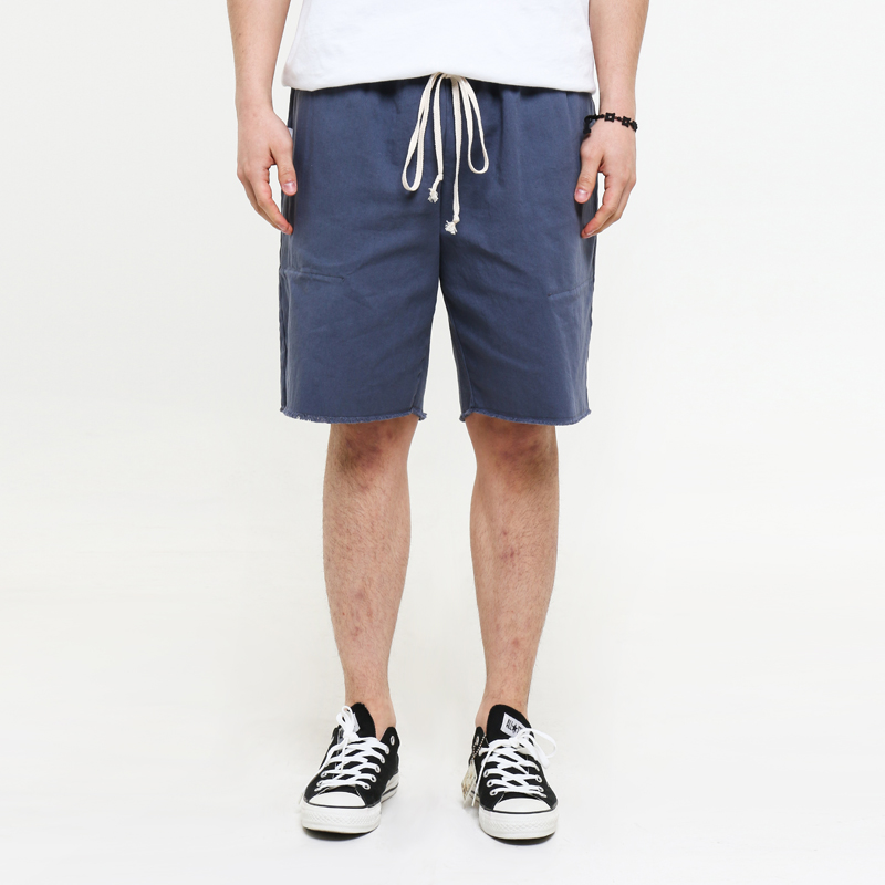 [EPTM] UNIFORM GREY CUT OFF SHORTS