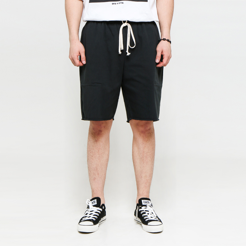 [EPTM] VINTAGE BLACK CUT OFF SHORTS