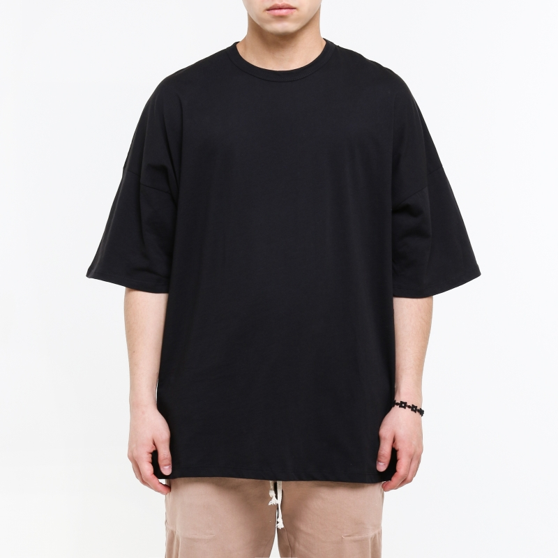 [$ SHOP SALE] [EPTM] DROP SHOULDER TEE (BLACK)