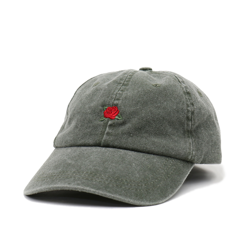 [쿠드그라스 연말 FINAL SALE] [EPTM] VINTAGE OLIVE ROSE CAP