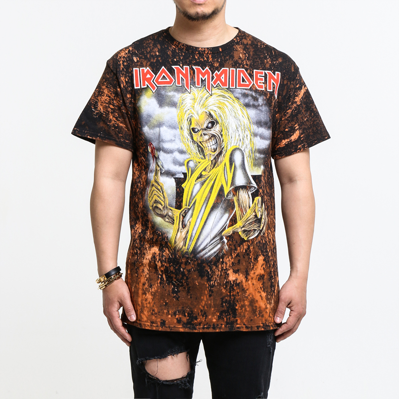 [$ SHOP SALE] [BLEACH MERCH] IRON MAIDEN KILLERS T-SHIRT