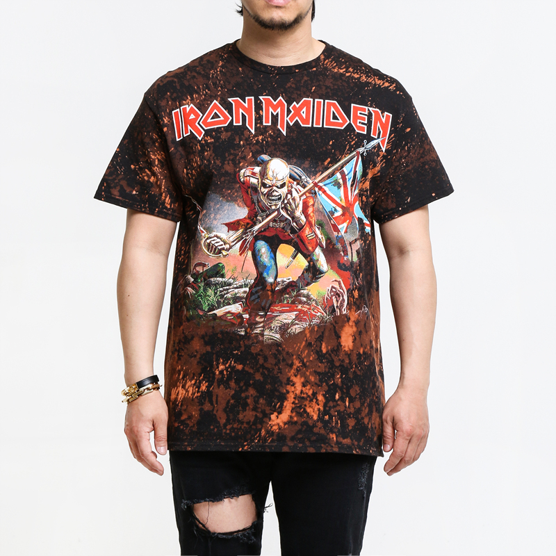 [$ SHOP SALE] [BLEACH MERCH] IRON MAIDEN TROOPER T-SHIRT