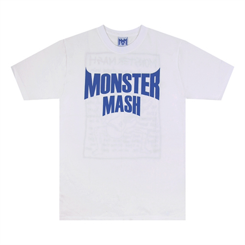 [NASTY PALM] MONSTER HAZE TEE (WHT)