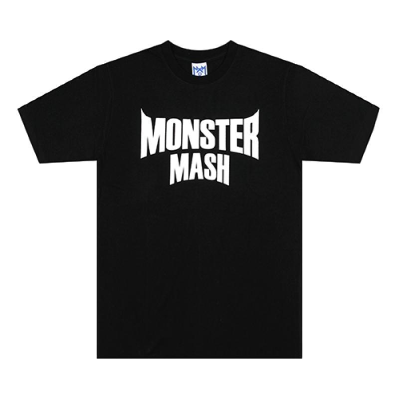 [NASTY PALM] MONSTER HAZE TEE (BLK)