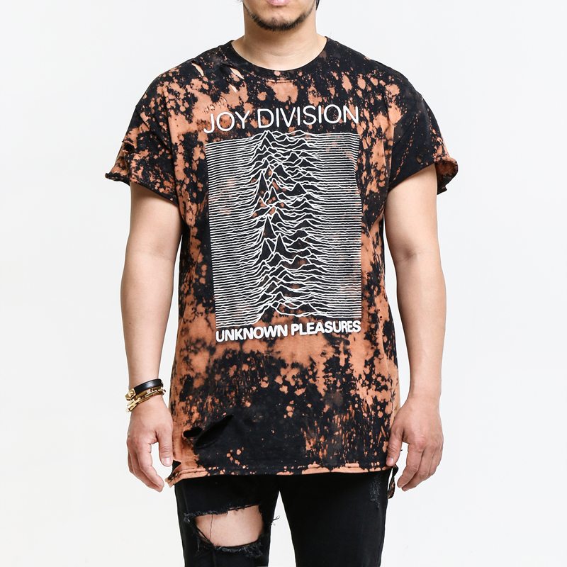 [$ SHOP SALE] [BLEACH MERCH] JOY DIVISION DISTORYED T-SHIRT