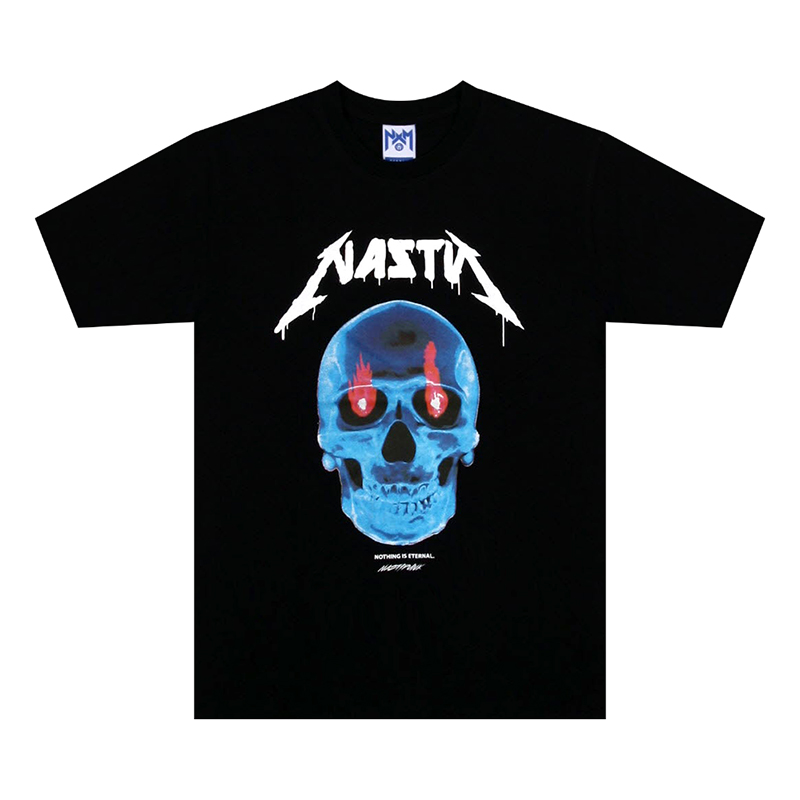 [NASTY PALM] NASTY THRILL TEE (BLK)