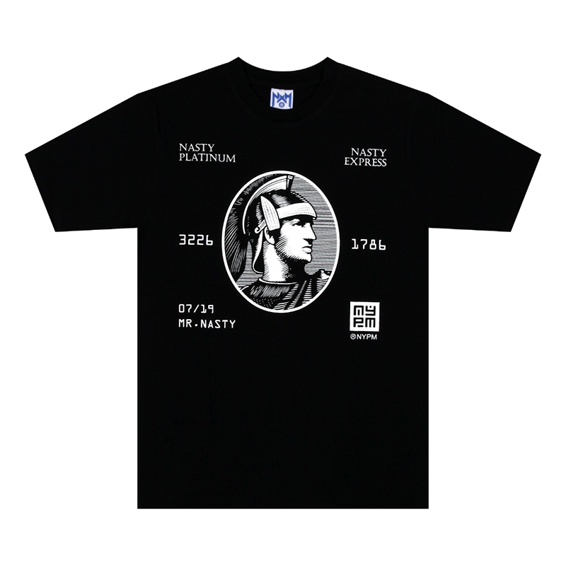 [NASTY PALM] NASTY EXPRESS TEE (BLK)