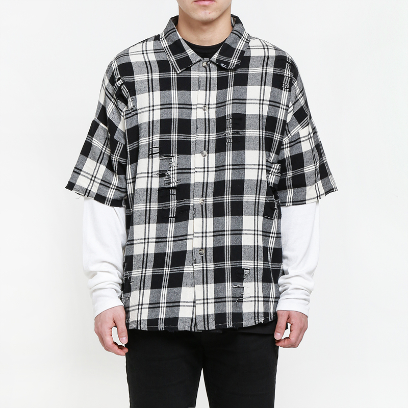 [EPTM] EAST LOS IVORY FLANNEL THERMAL SLEEVES