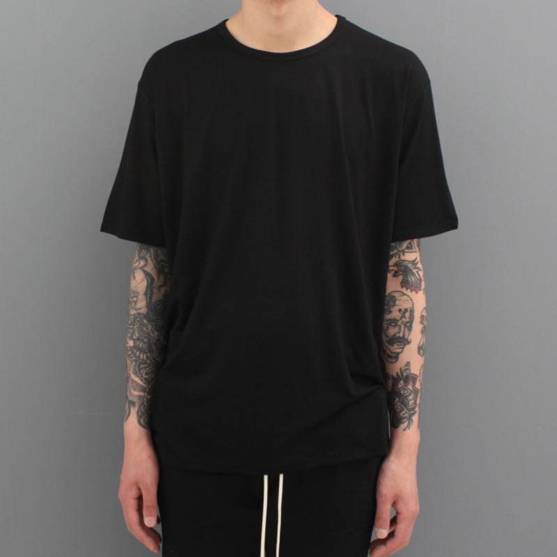 [FADE6 x BURJ SURTR] BASIC RAYON T-SHIRT (5COLORS)