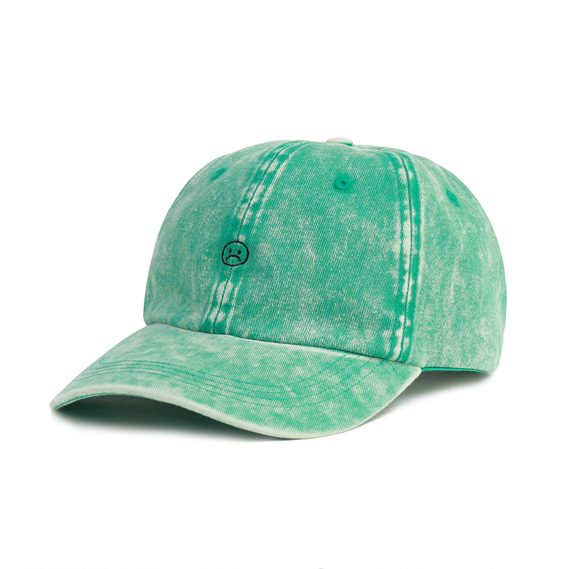 [EPTM] VINTAGE GREEN SOUR FACE DAD CAP