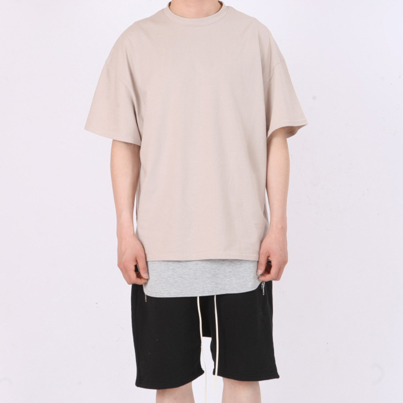 [FADE6] OVER BOXY T-SHIRT BEIGE