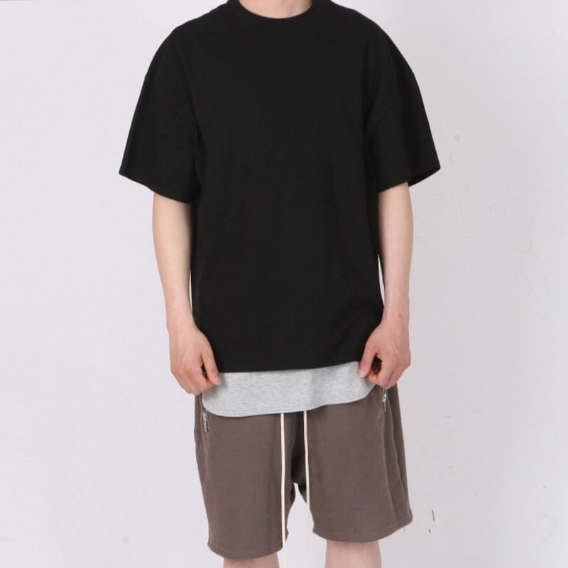 [FADE6] OVER BOXY T-SHIRT BLACK