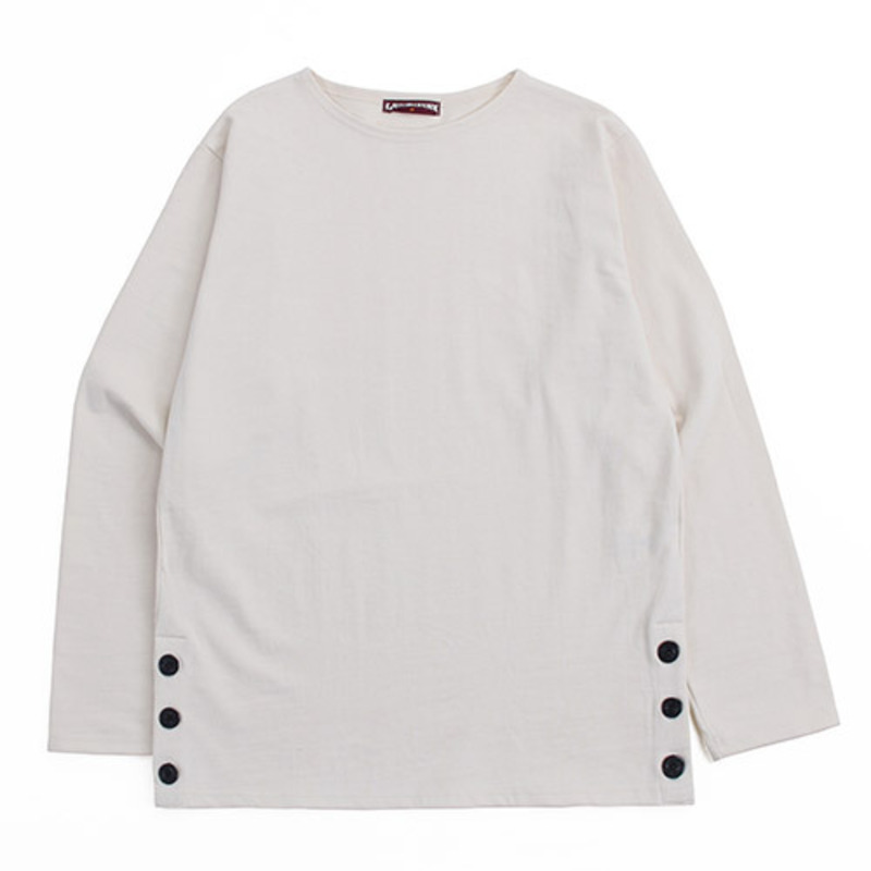 [GROSS INVENTORY] ANCHOR BUTTON BOATNECK (NATURAL)