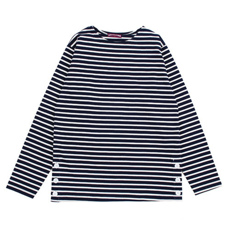 [GROSS INVENTORY] ANCHOR BUTTON BOATNECK (NAVY)