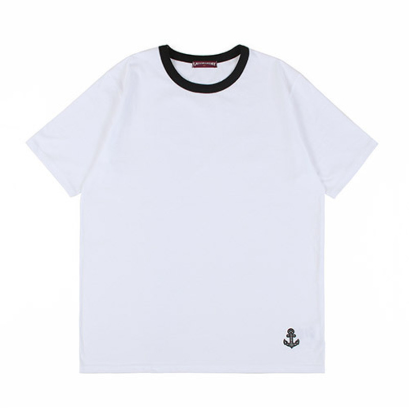 [GROSS INVENTORY] ANCHOR T-SHIRTS (WHITE)