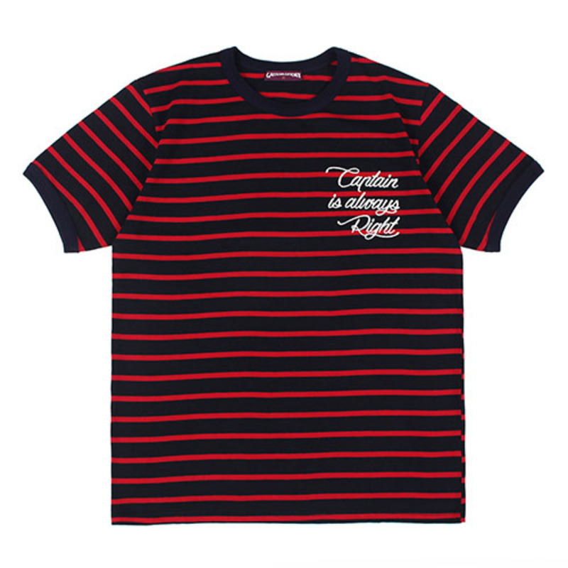 [GROSS INVENTORY] CAPTAIN STRIPE T-SHIRTS (RED)