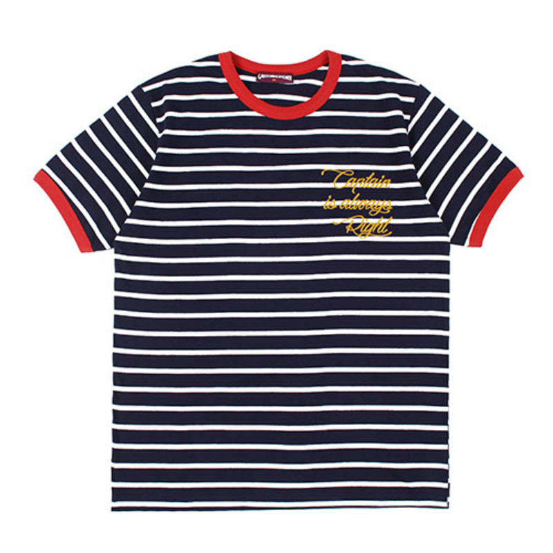[GROSS INVENTORY] CAPTAIN STRIPE T-SHIRTS (WHITE)