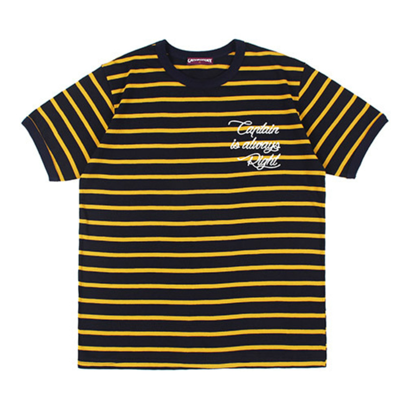 [GROSS INVENTORY] CAPTAIN STRIPE T-SHIRTS (YELLOW)