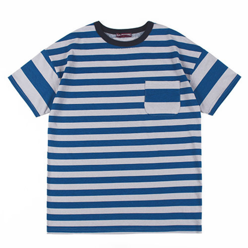 [GROSS INVENTORY] DOUBLE STRIPE T-SHIRTS (BLUE)