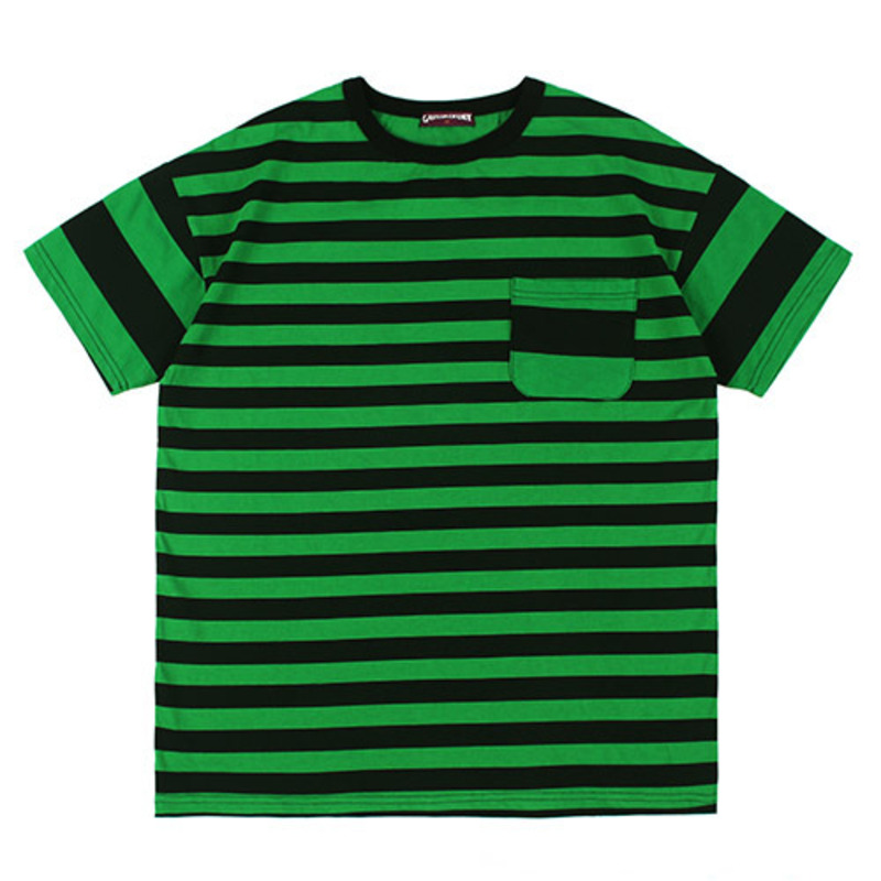 [GROSS INVENTORY] DOUBLE STRIPE T-SHIRTS (GREEN)