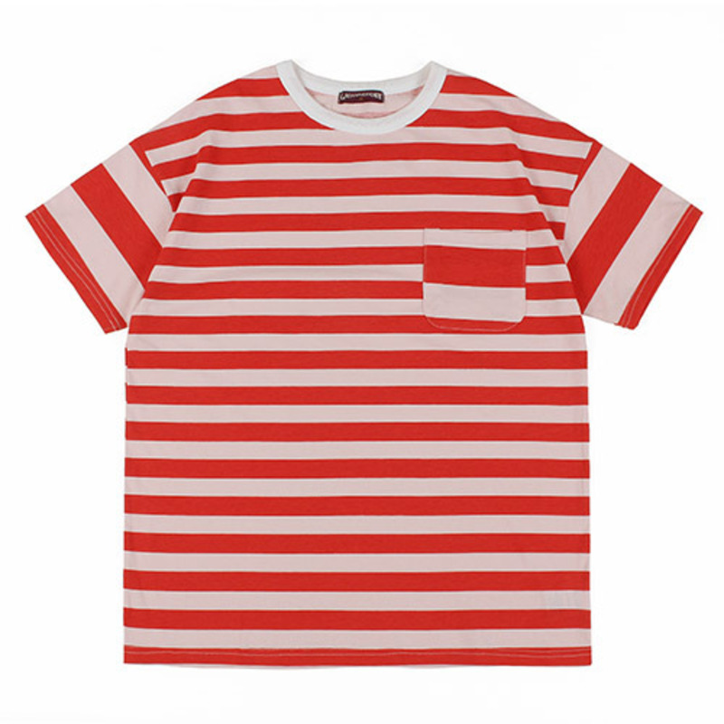 [GROSS INVENTORY] DOUBLE STRIPE T-SHIRTS (RED)