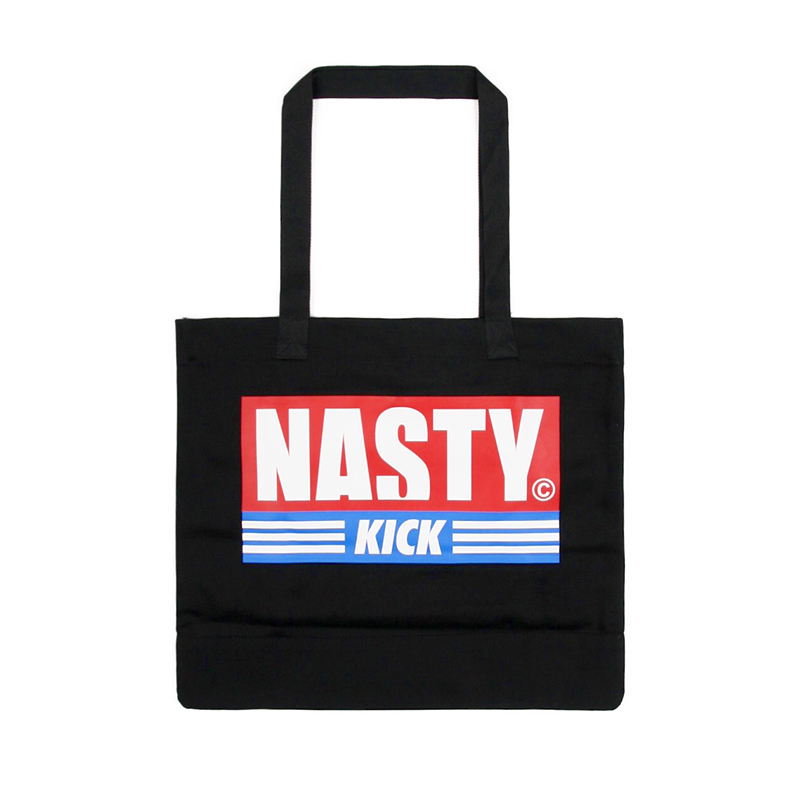 [NASTY PALM] NASTY KICK TOTEBAG (BLK)