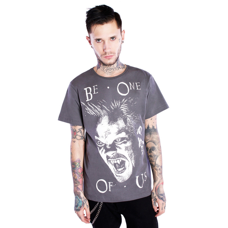 [$ SHOP SALE] [DISTURBIA ] BE ONE OF US TEE BLACK