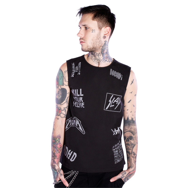 [$ SHOP SALE] [DISTURBIA ] GENERIC ROCK VEST
