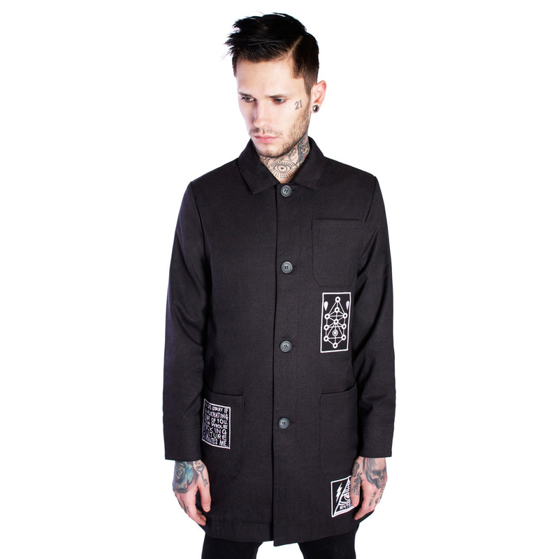 [DISTURBIA ] SLOUCH COAT