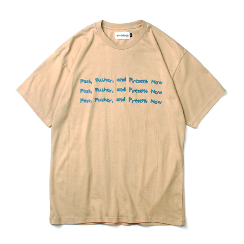 [MARCH WITH] P.F.P. TEE BEIGE