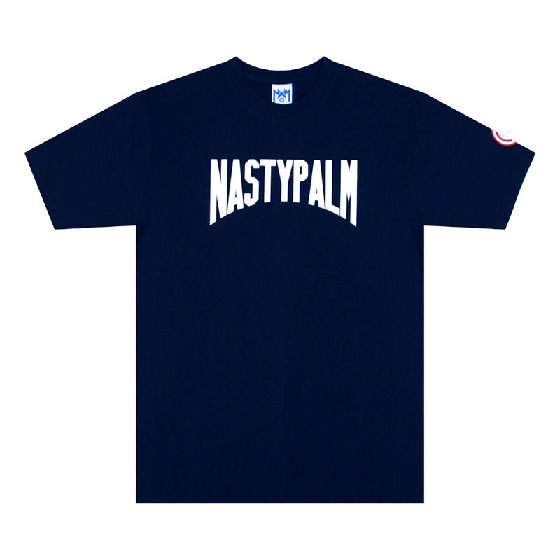 [NYPM] NASTY MOB TEE (NAVY)