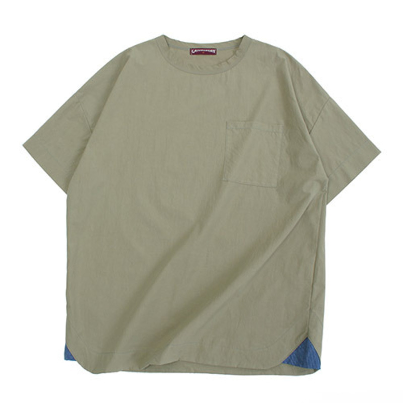 [GROSS INVENTORY]GRS WOVEN T-SHIRTS (KHAKI)