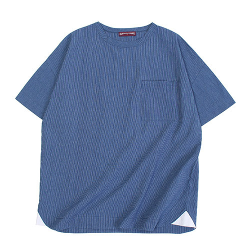 [GROSS INVENTORY]GRS WOVEN T-SHIRTS (NAVY)