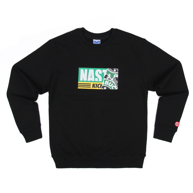[NASTY PALM] NASTY KICK SIREN SWEATSHIRTS (BLK)