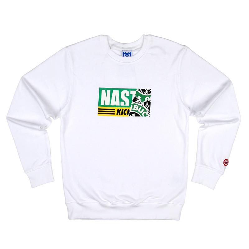 [NASTY PALM] NASTY KICK SIREN SWEATSHIRTS (WHT)