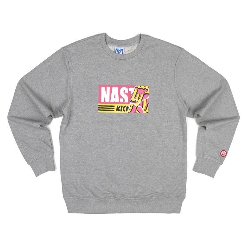 [NASTY PALM] NASTY KICK SWEETS SWEATSHIRTS (MEL)
