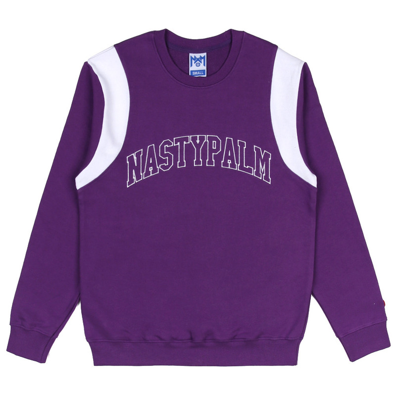 [NASTY PALM] NASTY GRAB SWEATSHIRTS (PURPLE)