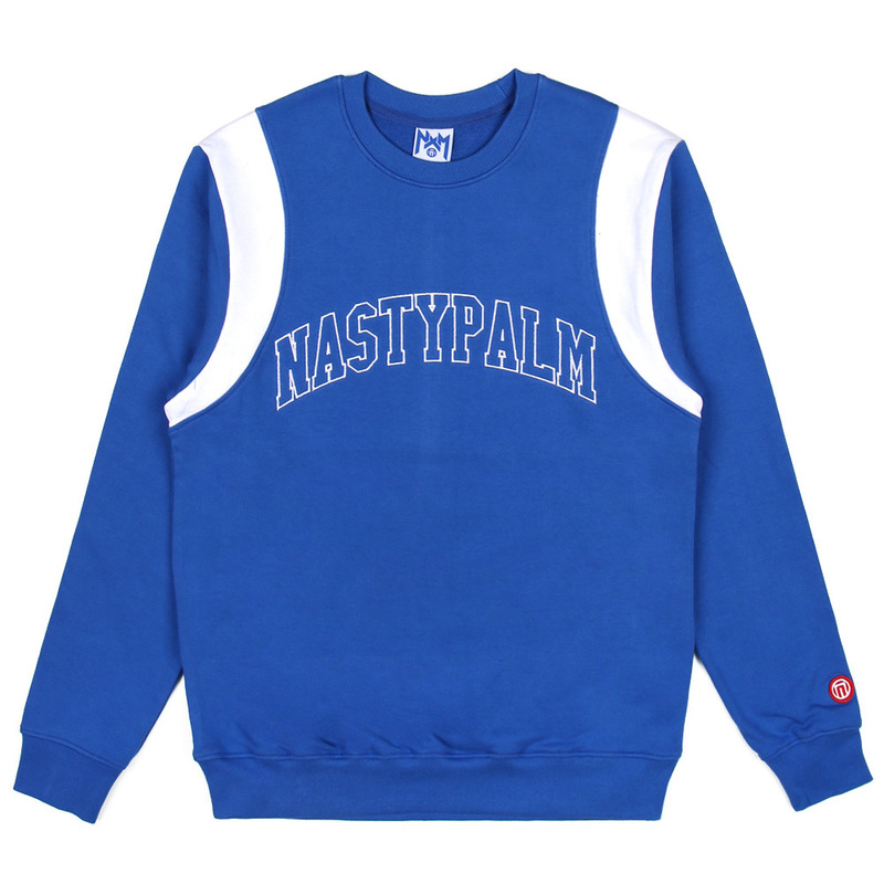 [NASTY PALM] NASTY GRAB SWEATSHIRTS (BLUE)