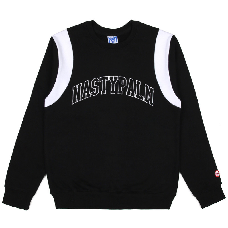 [NASTY PALM] NASTY GRAB SWEATSHIRTS (BLK)