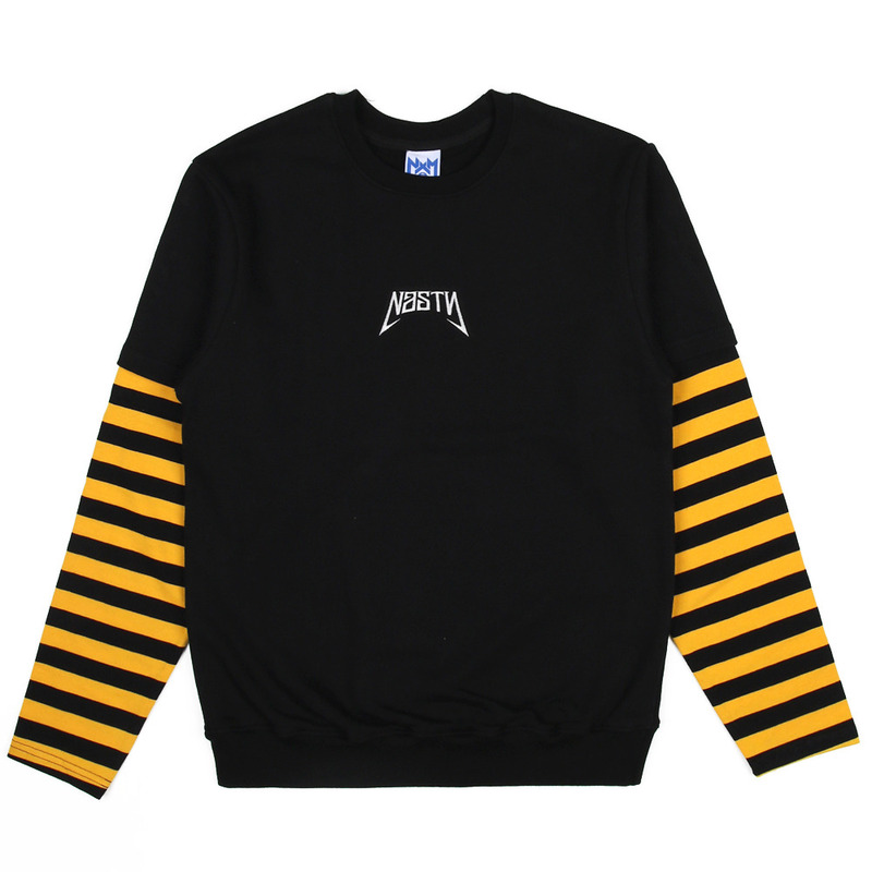 [NASTY PALM] NASTY AREA SLEEVE TEE (YELLOW)