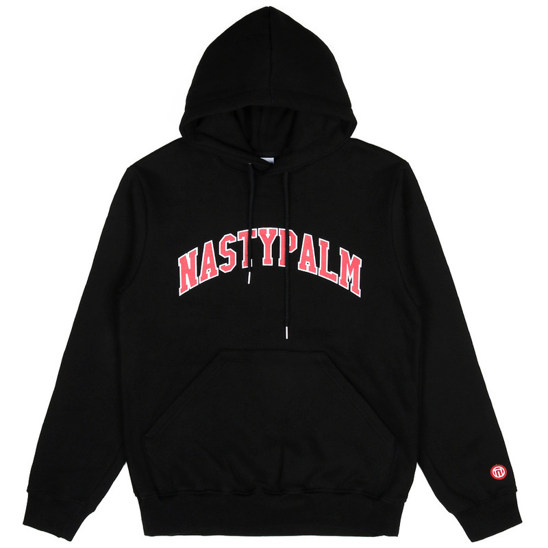 [NASTY PALM] NASTY MOB HOODY (BLK)