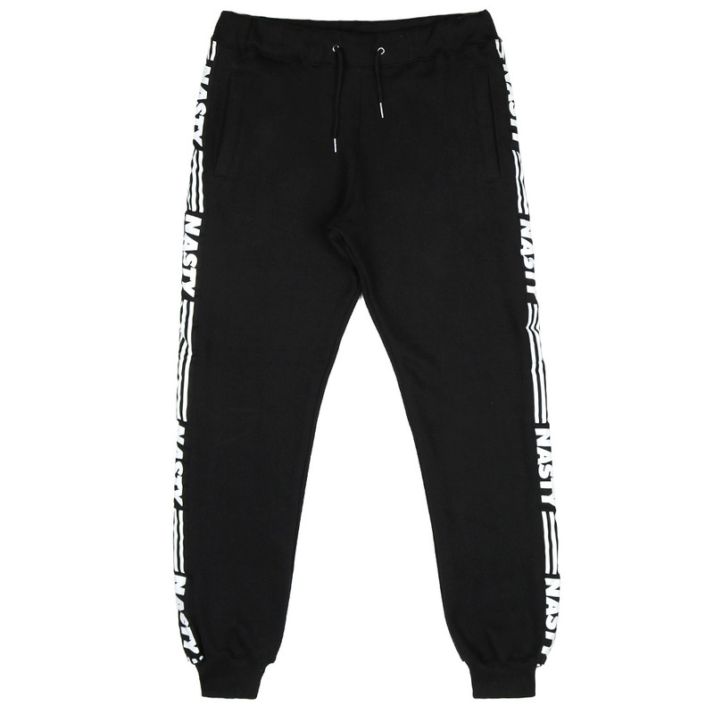 [NASTY PALM] NASTY LINE SWEATPANTS (BLK)