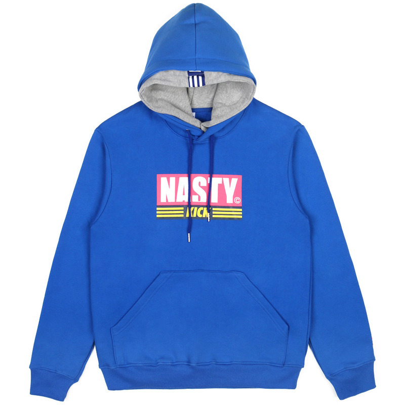 [NASTY PALM] NASTY KICK DOUBLE HOODY (BLUE)