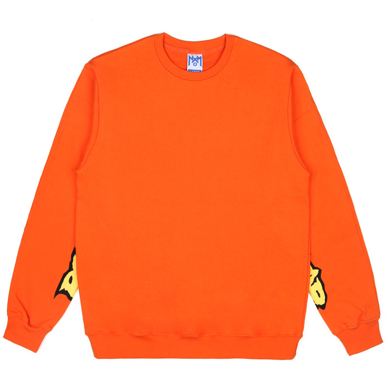[NASTY PALM] ROCKSTAR SWEATSHIRT (ORANGE)